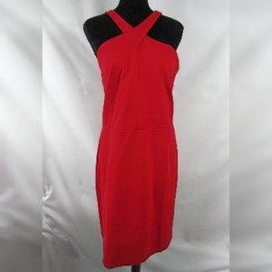 INC Intl Concepts Sleeveless Bodycon Red Dress 16W